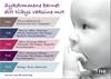 Bilde av forsiden til brosjyren barnevaksinasjonsprogrammet